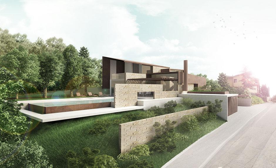 Casa contemporanea in toscana storm studio architecture for Casa di vetro contemporanea