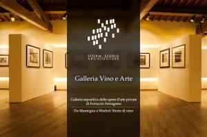 Galleria Espositiva Ferragamo presso Il Borro Da Mantegna a Warhol Storie di vino Copertina