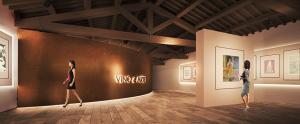 Galleria Espositiva Ferragamo presso Il Borro Da Mantegna a Warhol Storie di vino 02