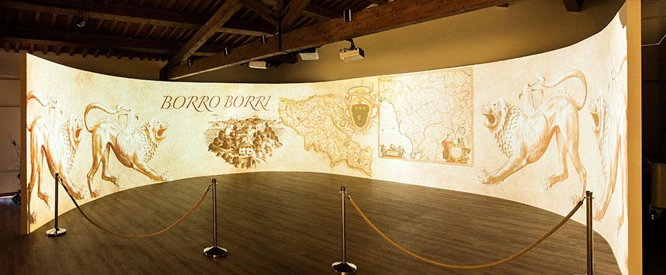Galleria Espositiva Ferragamo presso Il Borro Da Mantegna a Warhol Storie di vino 03