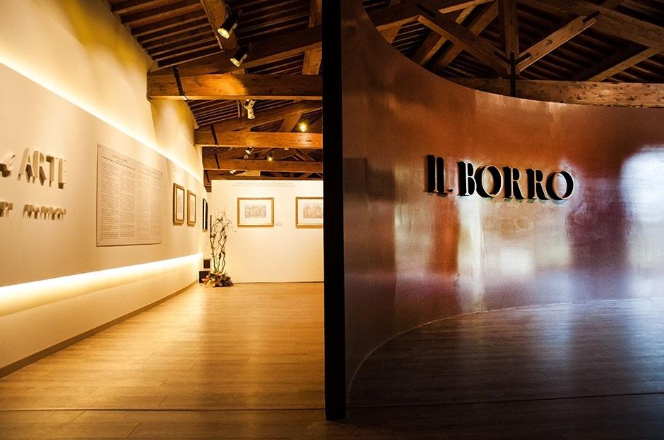 Galleria Espositiva Ferragamo presso Il Borro Da Mantegna a Warhol Storie di vino 10