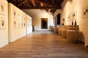 Galleria Espositiva Ferragamo presso Il Borro Da Mantegna a Warhol Storie di vino 13