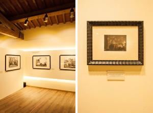 Galleria Espositiva Ferragamo presso Il Borro Da Mantegna a Warhol Storie di vino 16