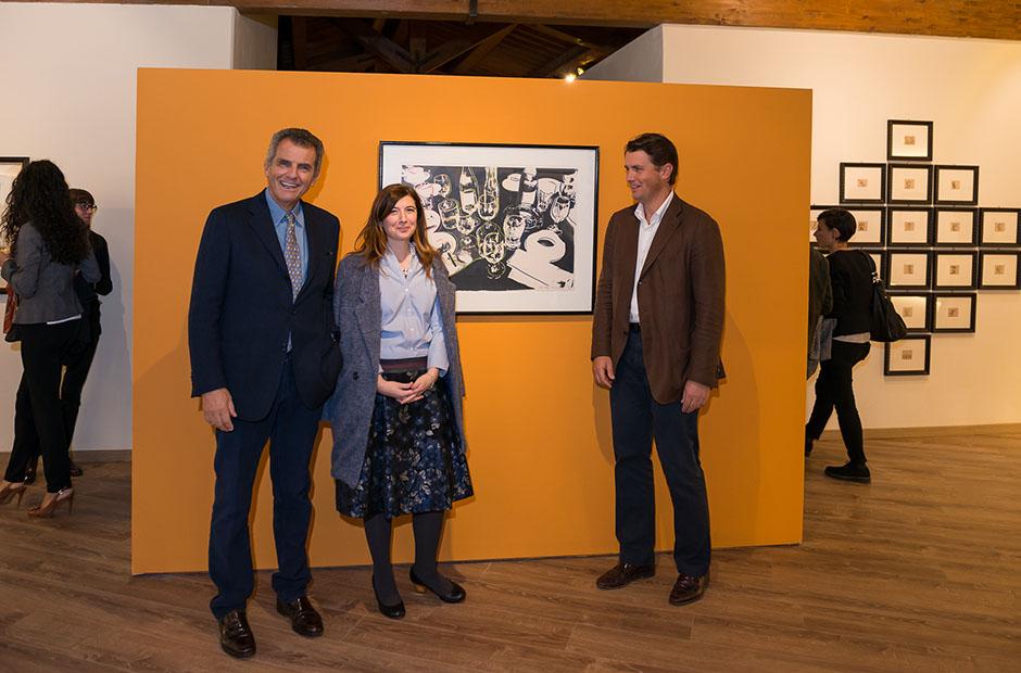 Galleria Espositiva Ferragamo presso Il Borro Da Mantegna a Warhol Storie di vino 20