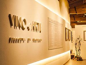 Galleria Espositiva Ferragamo presso Il Borro Da Mantegna a Warhol Storie di vino 300x225