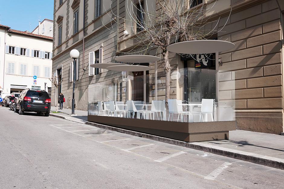 Un affaccio sul Teatro Petrarca – Caffè del Teatro