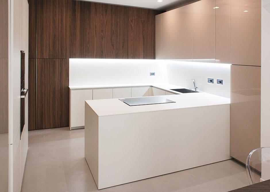 Vista sulla cucina
